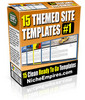 Thumbnail 15 Themed Site Templates Vol.1 (MRR)
