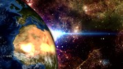 Thumbnail Globe with space background