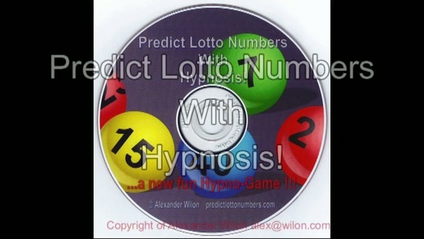Pay for Predict Lotto Numbers With Hypnosis
