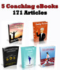Thumbnail 5 Life Coach eBooks and 171 Coach articles