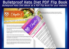 Thumbnail Bulletproof Keto Diet eBook as an Interactive PDF Flip Book