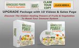 Thumbnail The Miraculous Power of Fruits & Vegetables Video UPGRADE