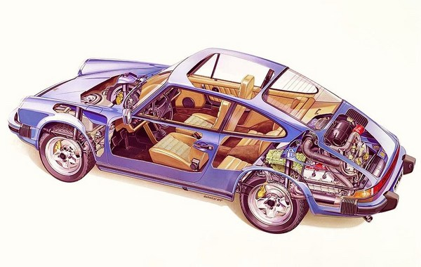 porsche 911 t  e  s  sc  carrera factory workshop manual 72