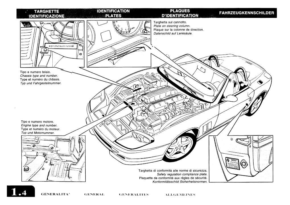 ferrari 550 barchetta owners manual us 2001 download. Black Bedroom Furniture Sets. Home Design Ideas