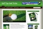 Thumbnail **New Monitized Golf Blog Template**