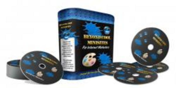 Pay for **Brand New Beyond Cool Minisites **