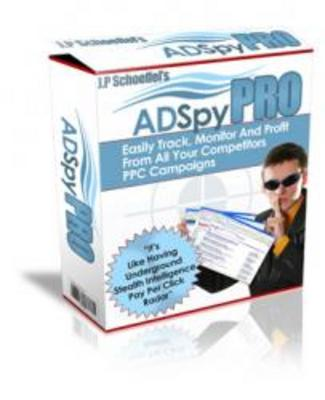 Pay for **Brand New Ad Spy PRO Software**
