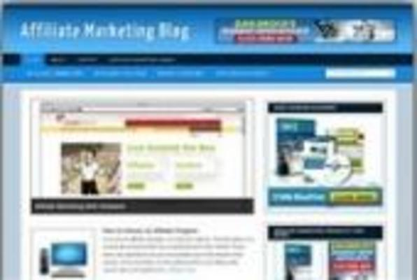 Pay For New Affiliate Marketing Wordpress Blog Template
