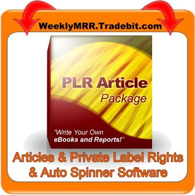 Pay for 250 Mixed PLR Articles + Easy Auto Spinner Software