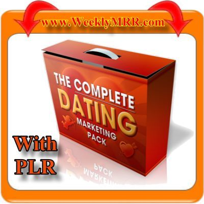 Pay for The Complete Dating Marketing Package with PLR