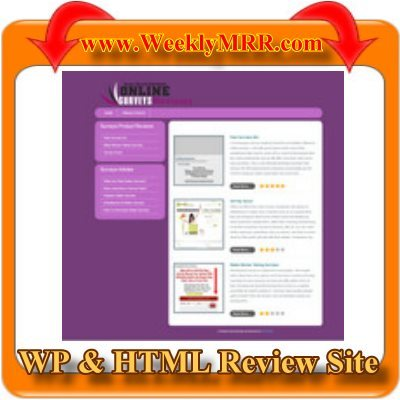 Pay for Online Surveys Review Site WP and HTML Review Theme