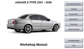 Thumbnail Jaguar X Type 2001-2009 Workshop Manual