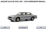Thumbnail JAGUAR XJ8, XJR, X308 WORKSHOP MANUAL 1997 - 2003