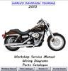 Thumbnail HARLEY DAVIDSON TOURING Workshop Service Manual 2013 ALL
