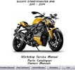 Thumbnail Ducati Streetfighter 848 Workshop Manual 2011 - 2014