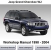 Thumbnail JEEP GRAND CHEROKEE WJ WORKSHOP SERVICE MANUAL 1998-2004