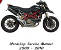 Thumbnail Ducati Hypermotard 1100 + 1100S  Workshop Service Manual