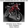Thumbnail Ducati Hypermotard 1100 EVO + 1100 EVO ABS Workshop Manual