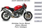 Thumbnail Ducati Monster S2R 800 + S2 R800 Dark Workshop Manual