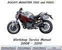 Thumbnail Ducati Monster 1100 + 1100S Workshop Service Manual