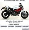 Thumbnail Ducati monster 796 + 796 ABS Workshop Service Manual
