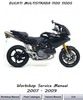 Thumbnail Ducati Multistrada 1100 + 1100S Workshop service manual