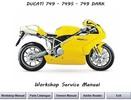 Thumbnail Ducati 749 + S + Dark Workshop Service Manual 2003 - 2006