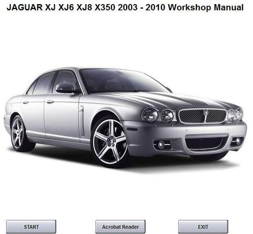 2010 Jaguar For Sale: JAGUAR XJ XJ6 XJ8 WORKSHOP SERVICE MANUAL X350 2003