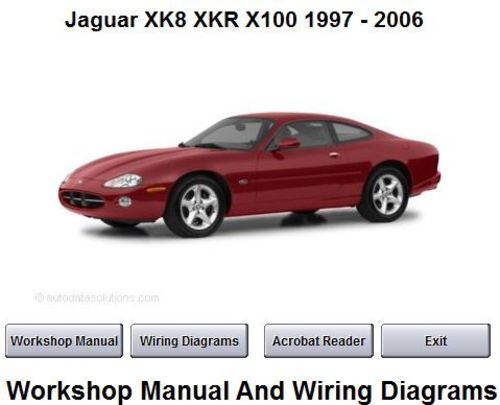 jaguar xk8 1997 workshop service manual repair. Black Bedroom Furniture Sets. Home Design Ideas