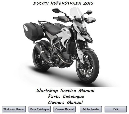 Pay for Ducati Hyperstrada 2013 Workshop Manual
