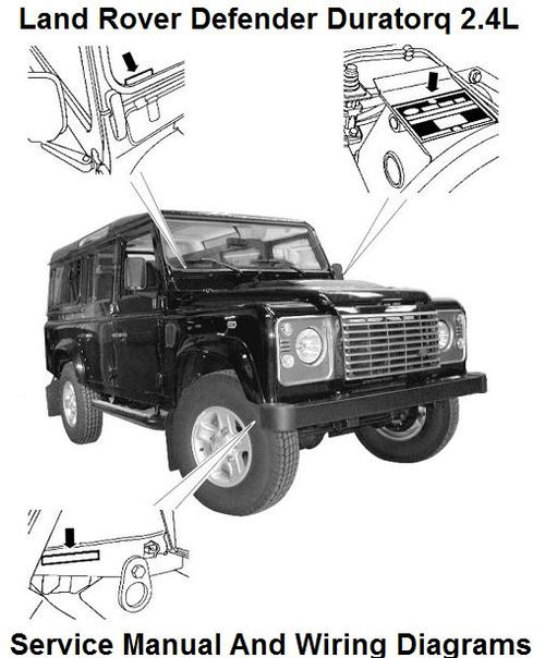 Pay For Land Rover Defender Duratorq 24l Tdci Workshop Manual: Land Rover County Ac Wiring Diagram At Johnprice.co