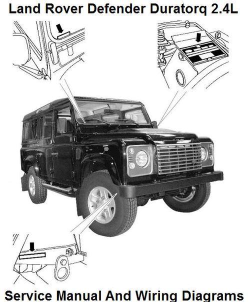 land rover defender duratorq 2 4l tdci workshop manual download m rh tradebit com 2015 Land Rover Defender land rover defender 300 tdi workshop manual