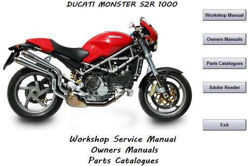 Ducati Monster S2r 1000 Workshop Service Manual
