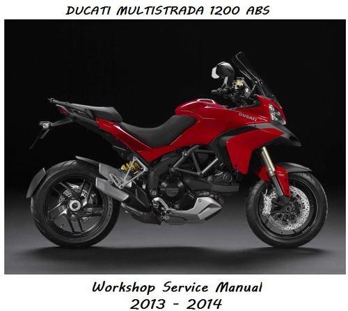 Pay for Ducati Multistrada 1200 ABS Workshop Service Repair Manual