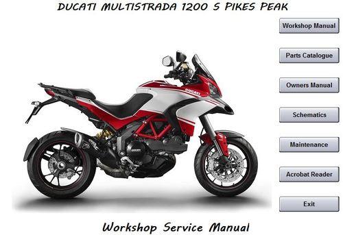 ducati multistrada 1200s pikes peak workshop manual download manu rh tradebit com ducati monster 1200 manual pdf ducati multistrada 1200 manuel
