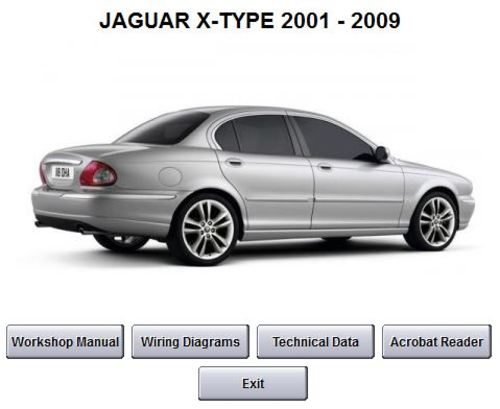 jaguar x type workshop service repair manual 2001 2009. Black Bedroom Furniture Sets. Home Design Ideas