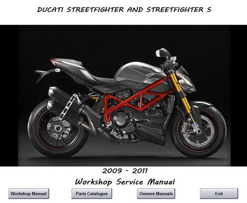 ducati streetfighter 2009 2011 workshop service manual download rh tradebit com ducati streetfighter 848 workshop manual ducati streetfighter 848 workshop manual pdf