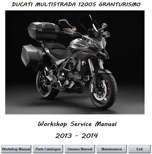ducati multistrada 1200s granturismo service manual download manu rh tradebit com ducati multistrada 1200 workshop manual ducati multistrada 1200 manuel