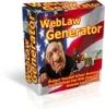 Thumbnail WebLaw Generator & Reseller Package