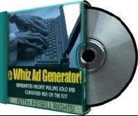 Pay for eWhiz Ad Creator V. 1 + Reseller Pak