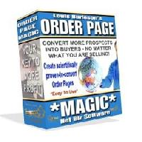 Pay for Order Page Magic Software with Master Resell Rights!