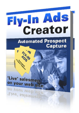 Pay for FLY IN ADS CREATOR - EFFECTIVE SALES TOOL - RESALE INCL