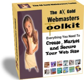 Pay for The AX Gold Software Webmaster Toolkit