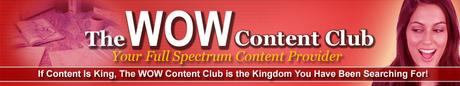 Pay for WOW Content Club