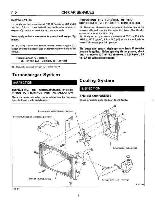 Pay for Subaru DL/GL 1989 Workshop Repair & Service Manual [COMPLETE & INFORMATIVE for DIY REPAIR] ☆ ☆ ☆ ☆ ☆