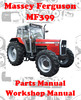 Thumbnail MASSEY FERGUSON MF 399 SPARE PARTS & WORKSHOP MANUAL