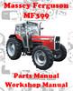 Thumbnail MASSEY FERGUSON MF 399 SPARE PARTS & WORKSHOP MANUAL