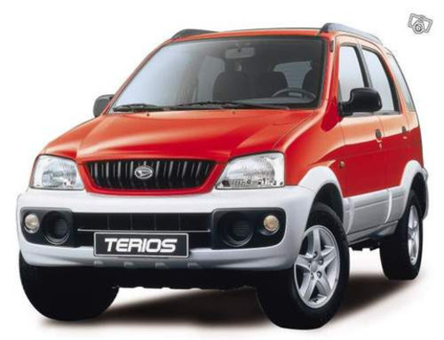 Daihatsu Terios J100 Service Repair Manual
