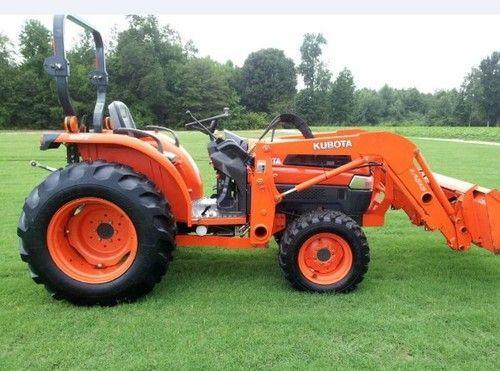 Kubota Tractor L3130 L3430 L3830 L4630 L5030 Workshop