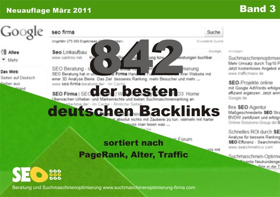 Pay for 842 Backlinks Pagerank 10 -0
